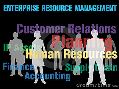 ERM Enterprise Resource Management business people