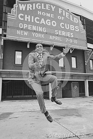 Ernie Banks Chicago Cubs Editorial Stock Photo