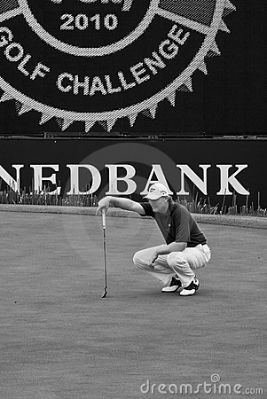 Ernie Els - NGC2010 Editorial Stock Photo