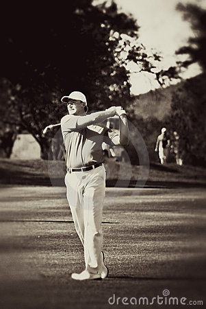 Ernie Els Editorial Photo
