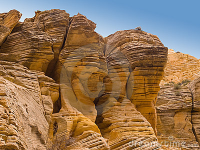 Eroded Desert Cliffs