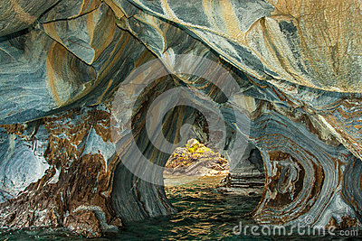 Eroded Marble Cavern