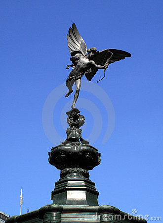 Free Eros Piccadilly Circus Stock Photo - 9476480