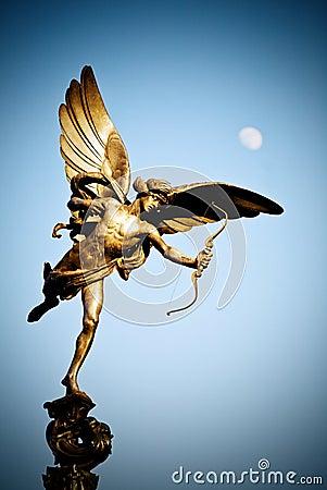 Eros Statue in London