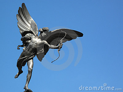 Eros Statue in Piccadilly Circus London