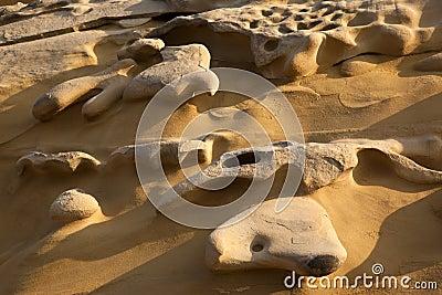 Erosion - Cliff Face - Cyprus