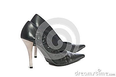 Erotic hig heels in black