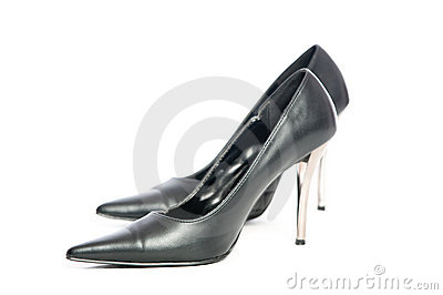 Erotic hig heels in black