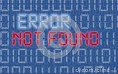 Erreur non trouvée