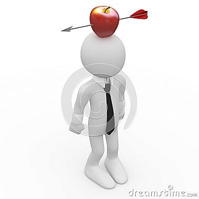 Apfel Auf Dem Kopf