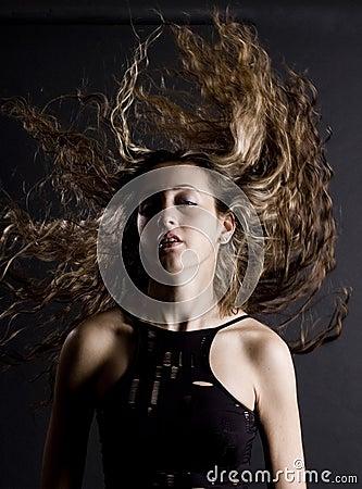 Erstaunliches Haar
