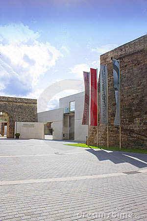 Es baluard in majorca Editorial Stock Image