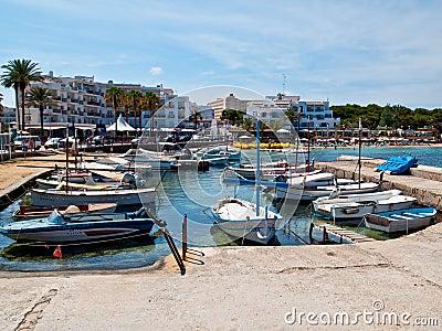 Es Cana Marina, Ibiza Editorial Image