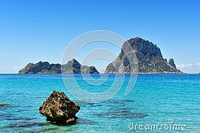Es Vedra Cala d Hort Ibiza Spain
