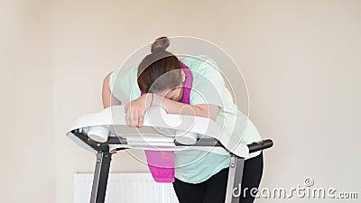 Escada rolante running da mulher gorda filme