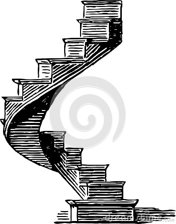 Escadaria espiral