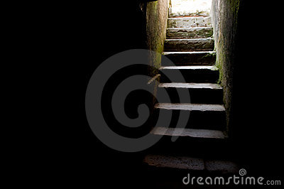 Escadaria velha