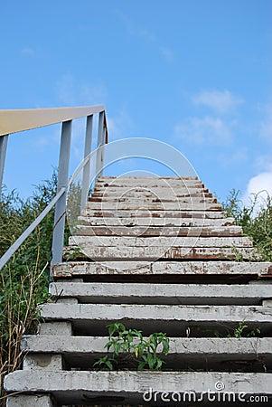 Escadas ao céu.