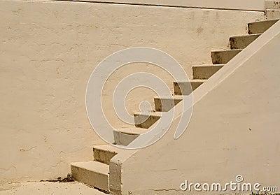 Escadas do cimento