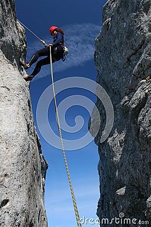 Escalada de rocha
