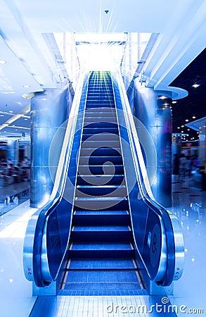 Free Escalator Royalty Free Stock Images - 15764739