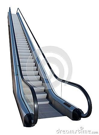 Free Escalator Royalty Free Stock Image - 21369146