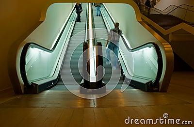 Escalator at Stedelijk Museum