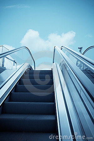 Escalator to the sky