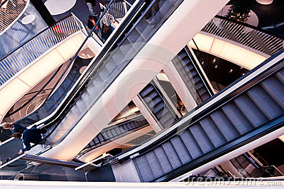 Escalators Editorial Image
