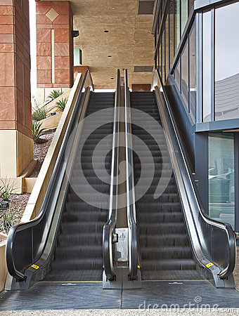 Escalators in motion
