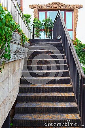 Escaleras al aire libre imagen de archivo libre de - Escaleras al aire ...