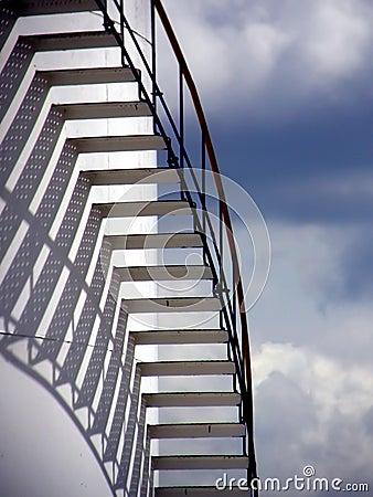 Escaleras en el cielo