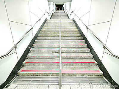 Escaleras largas