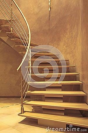 escalier dans la maison de luxe images stock image 12227554. Black Bedroom Furniture Sets. Home Design Ideas