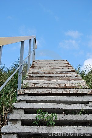Escaliers au ciel.