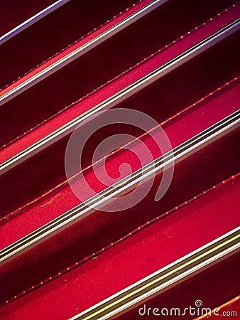 Escaliers de tapis rouge