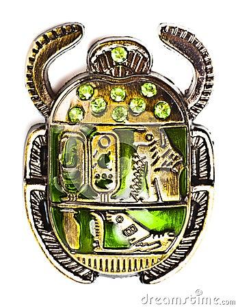 Escarabajo con las gemas