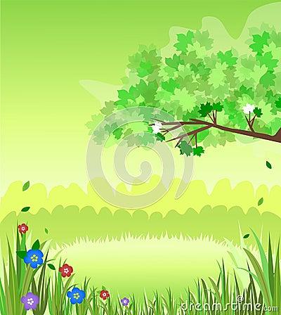 Escena de la naturaleza