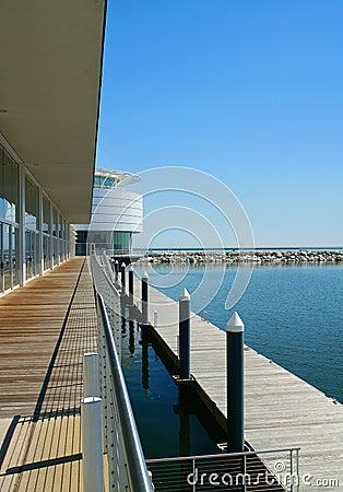 Escena del apartamento de la línea de costa de Milwaukee