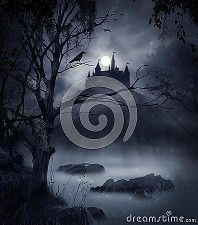 Escena oscura