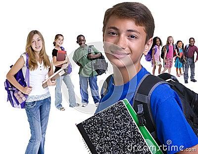 A escola caçoa a diversidade