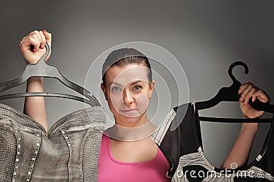 Escolha da roupa