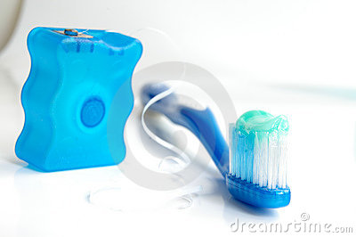 Escova e floss