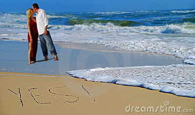 Escrito sim na areia por pares
