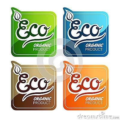 Escrituras de la etiqueta de Eco