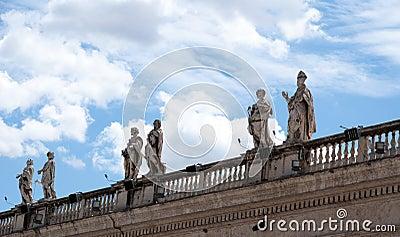 Escultura do telhado