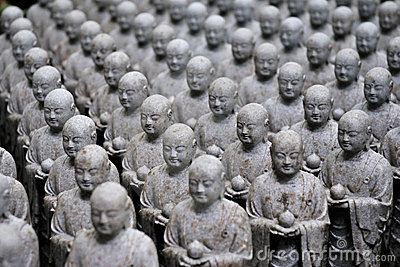 Esculturas japonesas del jizo