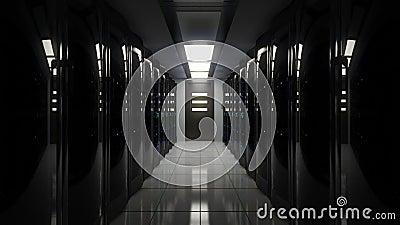 Escurecimento na sala do servidor