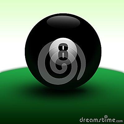 Esfera 8 realística