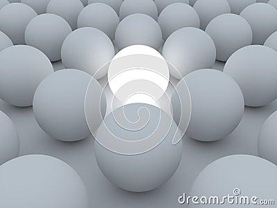 Esfera clara